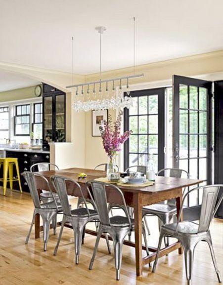 Farmhouse Dining Room Ideas 21