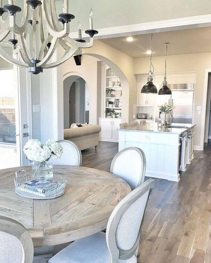 Farmhouse Dining Room Ideas 25