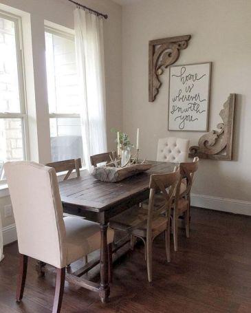 Farmhouse Dining Room Ideas 26