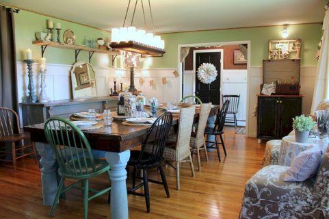 Farmhouse Dining Room Ideas 4