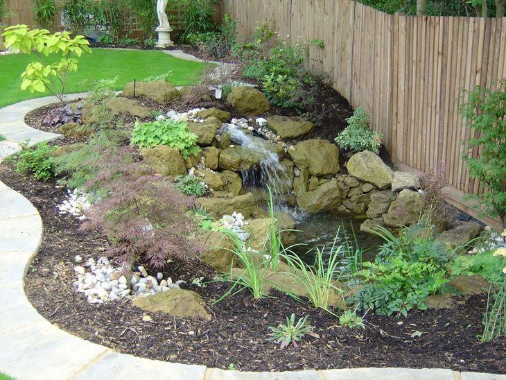 Simple Backyard Waterfall Design 12