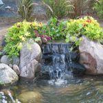 Simple Backyard Waterfall Design 9