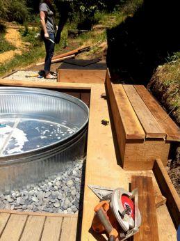 Stock Tank Swimming Pool Design 23