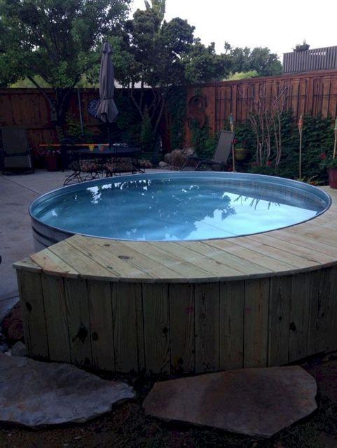 Stock Tank Swimming Pool Design 24