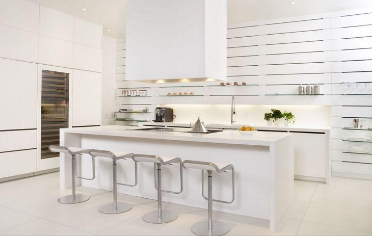 White Modern Kitchen Design 13