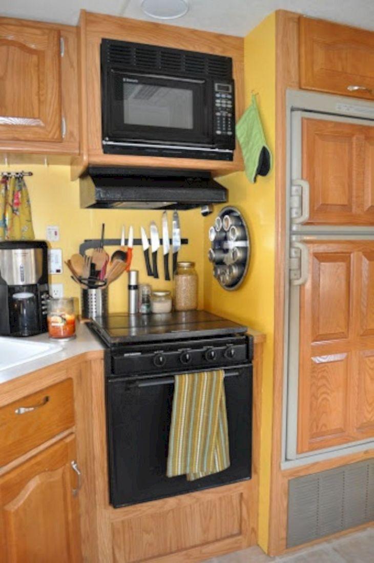 Camper Kitchen Organization Ideas 22