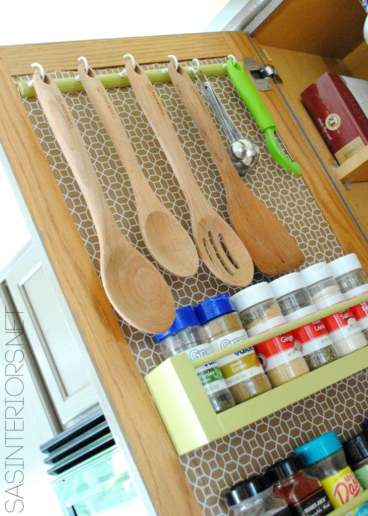 Camper Kitchen Organization Ideas 23
