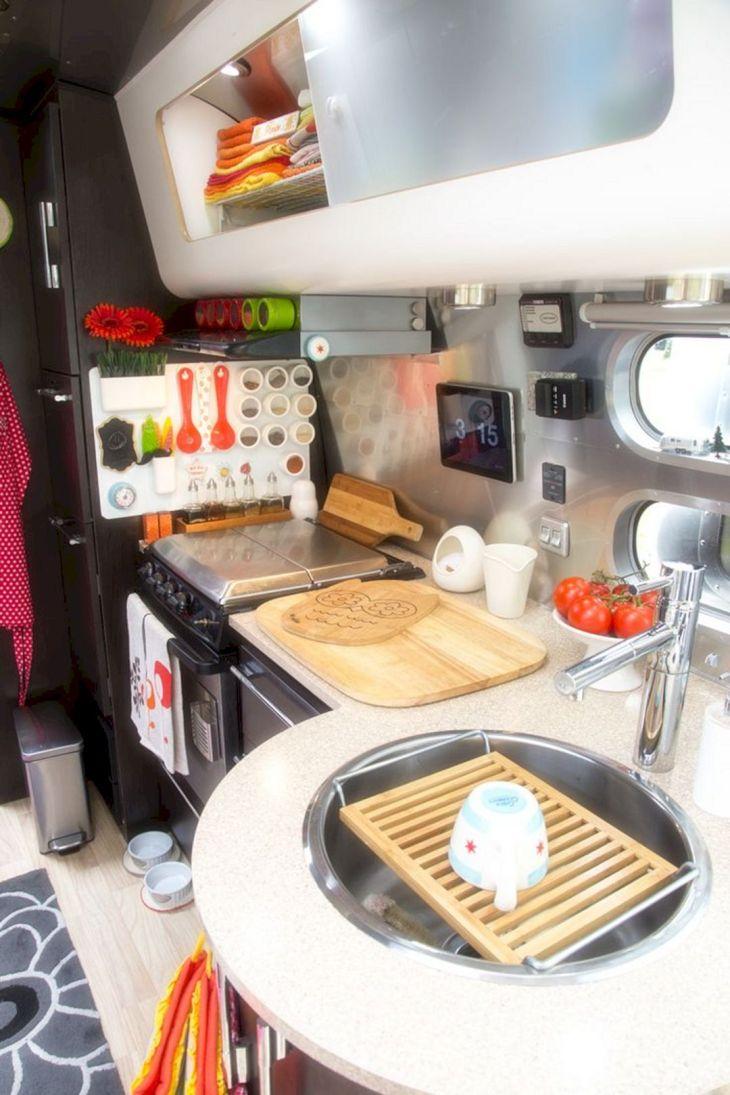 Camper Kitchen Organization Ideas 6