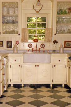 Farmhouse Kitchen Cabinet 7