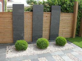 Black Garden Fences Design 11
