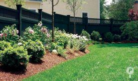 Black Garden Fences Design 25