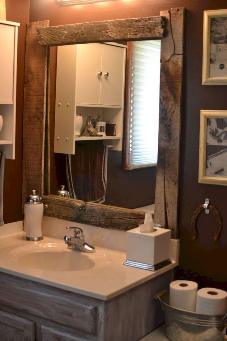 DIY Barnwood Bathroom Decoration 16