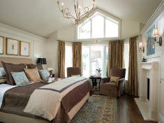 Master Bed Size Design 14