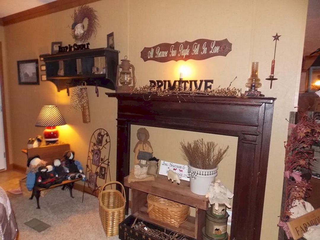 Unique 10 Best Primitive Living Room Wall Decor Ideas ...