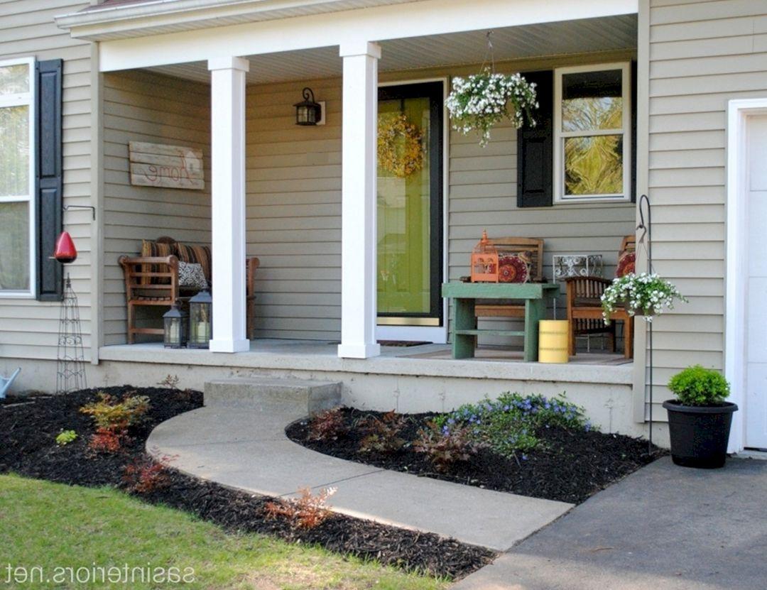 Small Front Porch Ideas 26 – DECOREDO