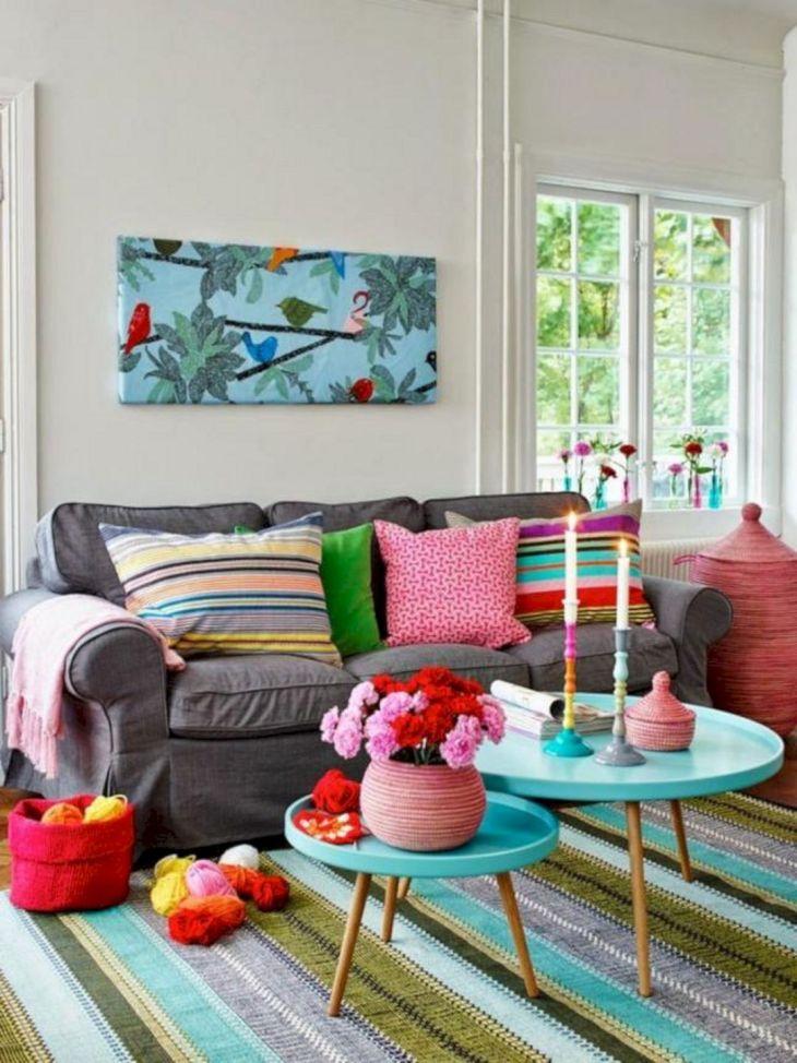 Bright Home Decor Ideas 36