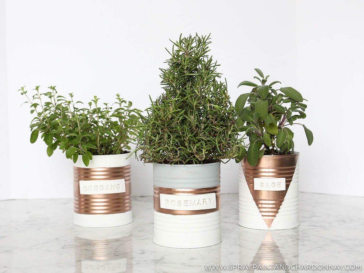 DIY Indoor Herb Garden 14