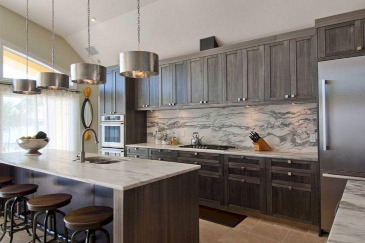 Grey Kitchen Design Ideas 20