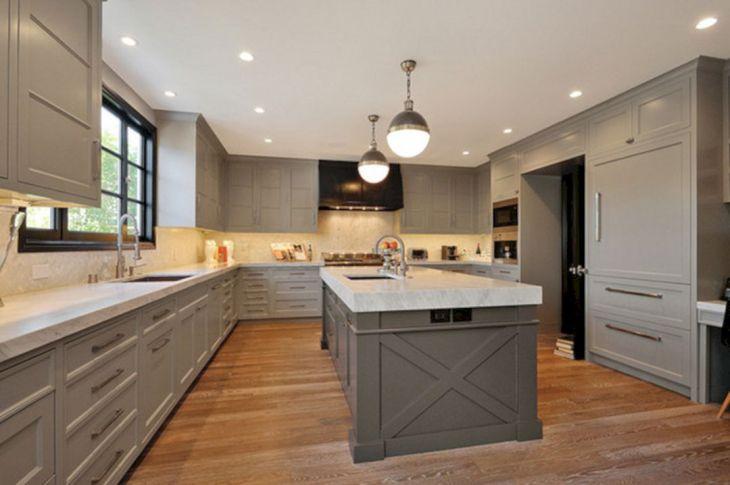 Grey Kitchen Design Ideas 22