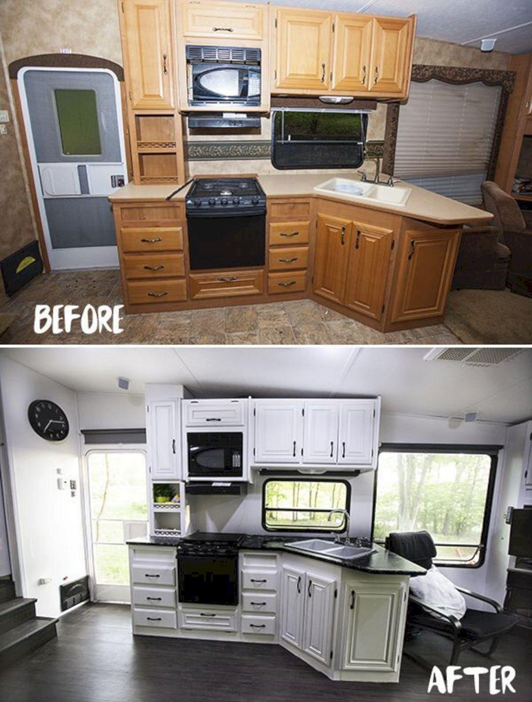 Renovated RV Camper Ideas 19