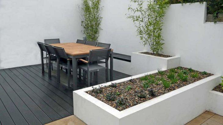 White Garden Design 14