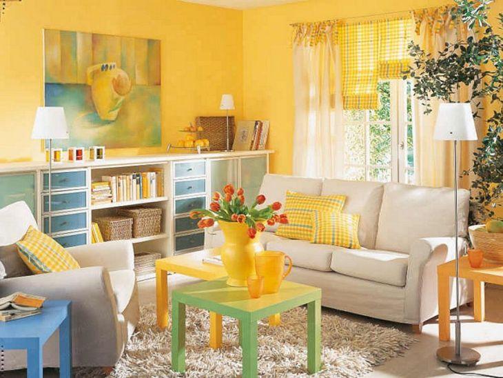 Yellow Home Decor Ideas 4