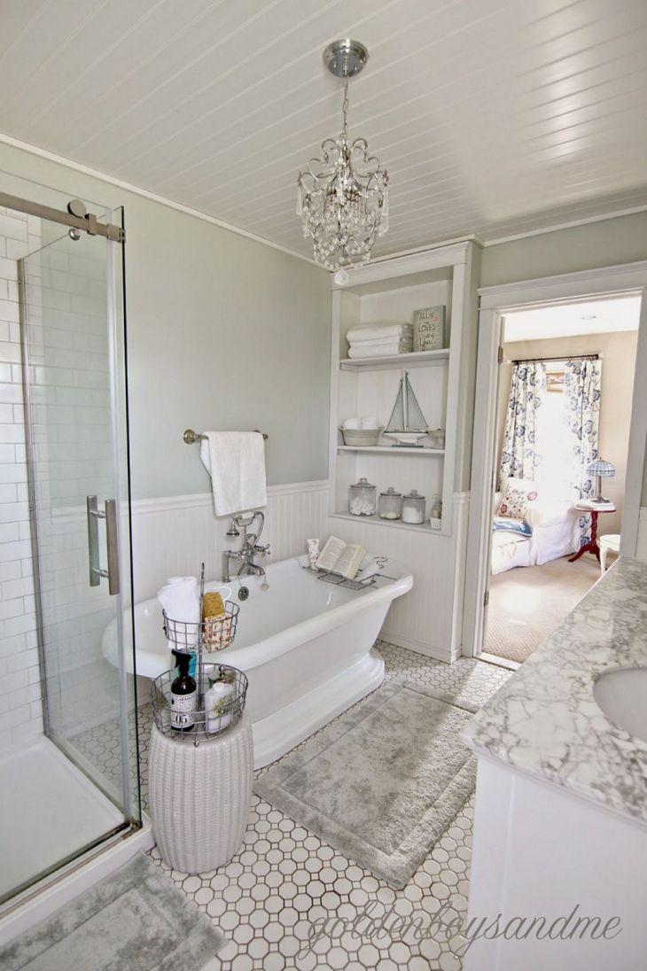 Best DIY Master Bathroom Ideas Remodel On a Budget 17