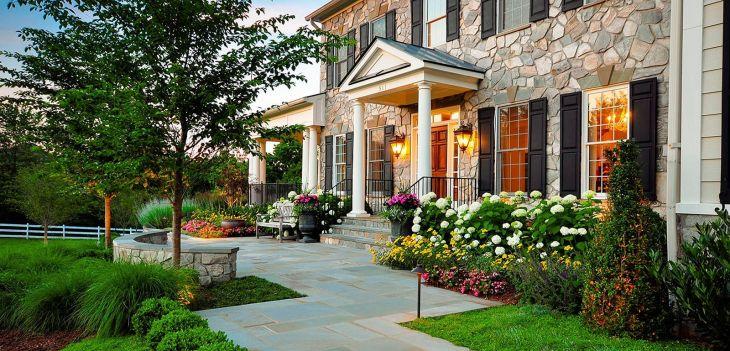 Front Yard Flower Garden Design 10
