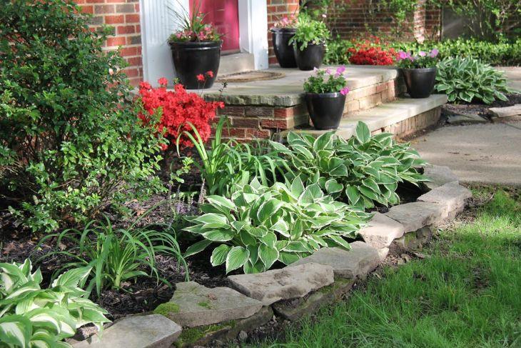 Front Yard Flower Garden Design 13