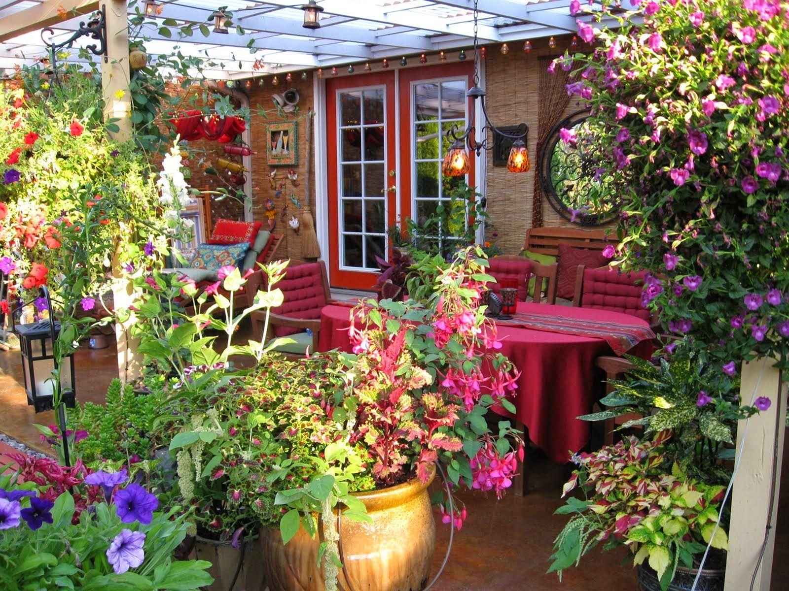 Front Yard Flower Garden Design 14