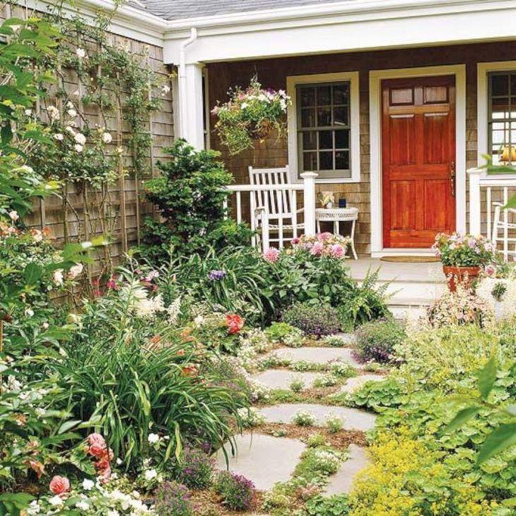 Front Yard Flower Garden Design 24