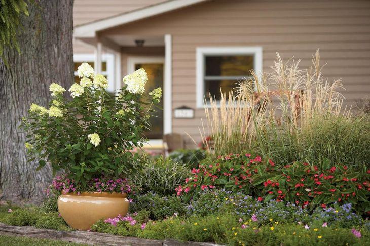 Front Yard Flower Garden Design 27