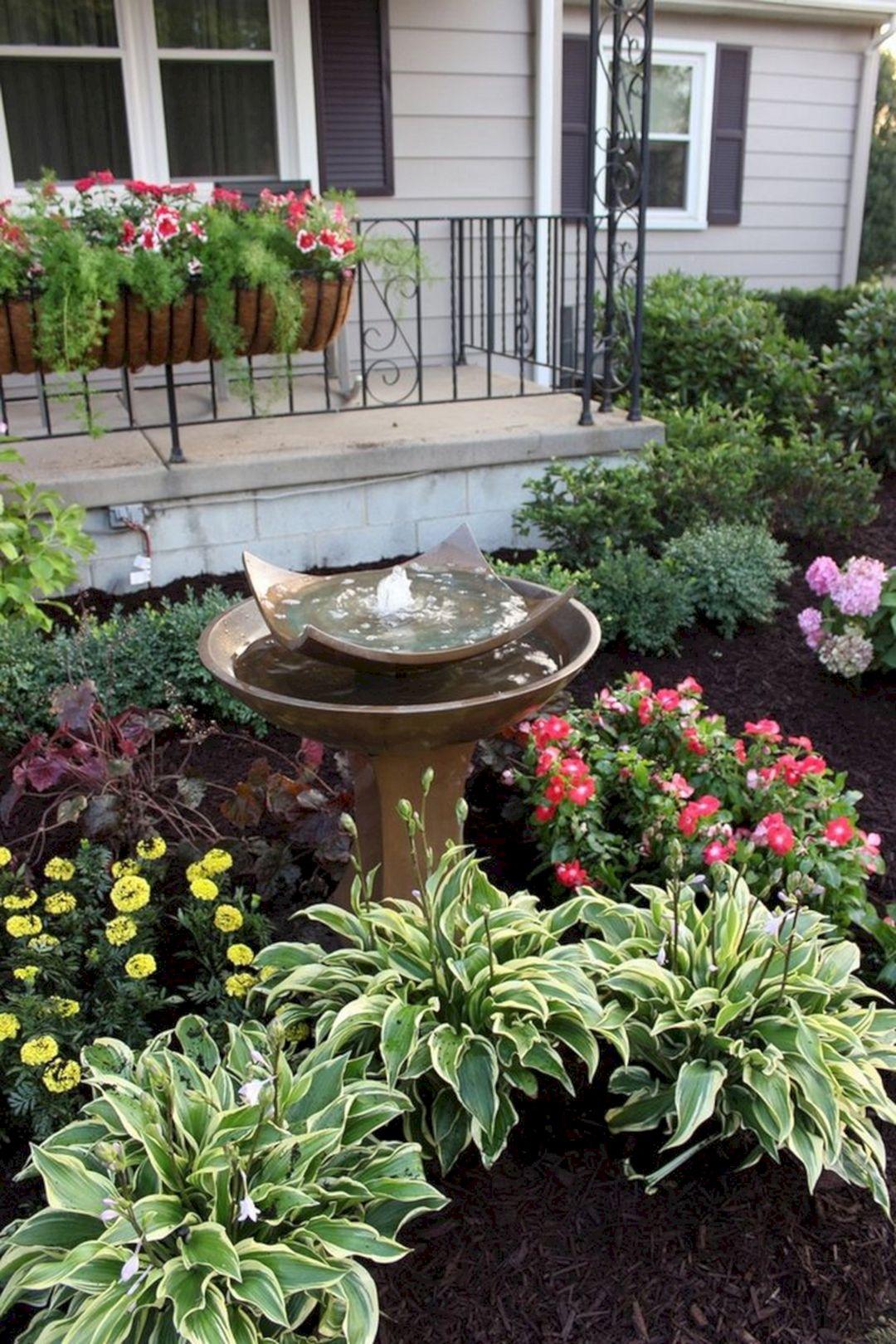 Front Yard Flower Garden Design 32