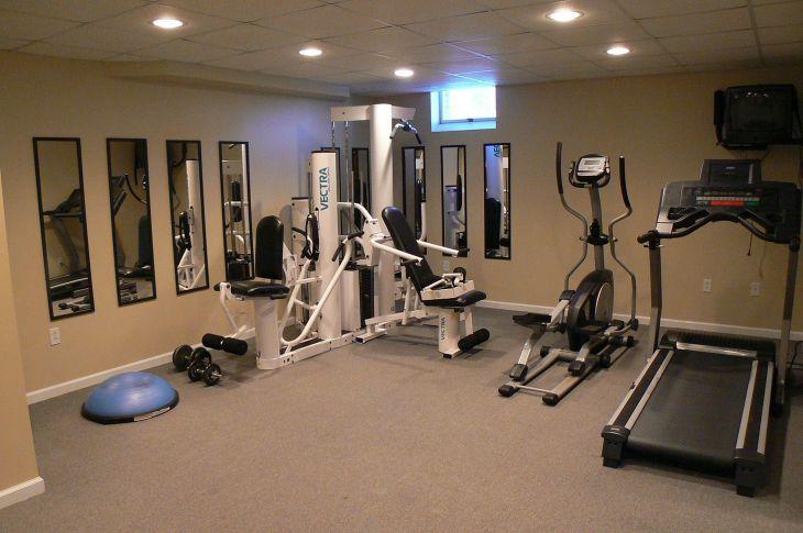 Home Gym Design Ideas 15