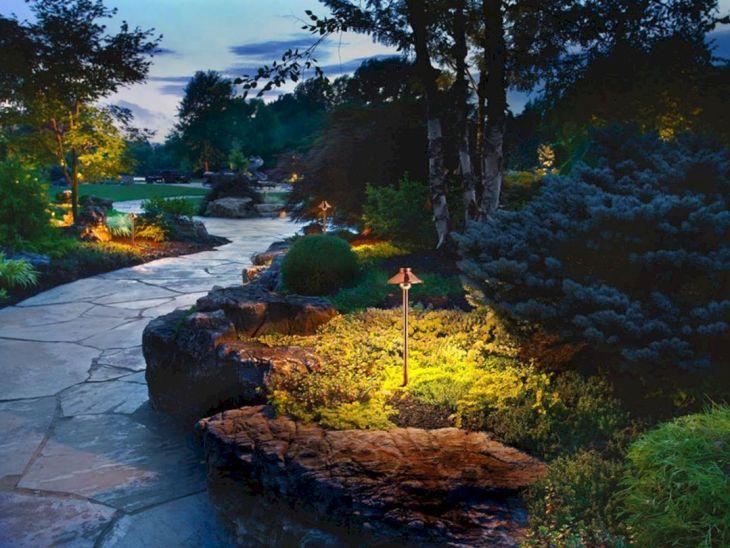 Inspirational Garden Lighting Design 36