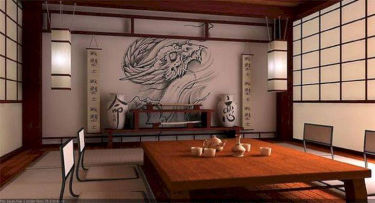Japanese Home Decor Design 32