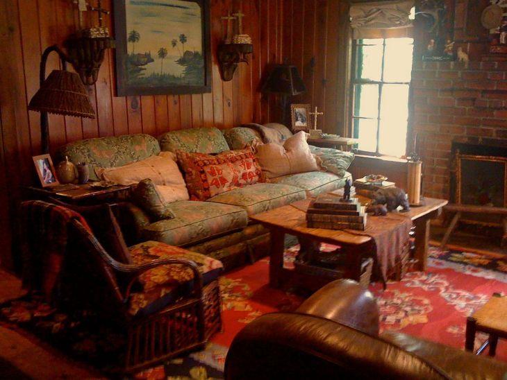 Living Room Farmhouse Decoration Ideas 132