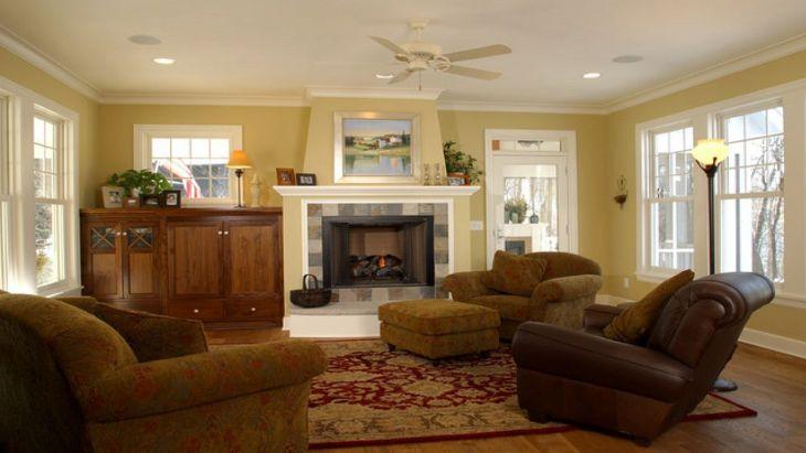 Living Room Farmhouse Decoration Ideas 18