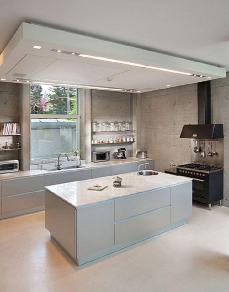 Modern Kitchen Ceiling Design Ideas 18