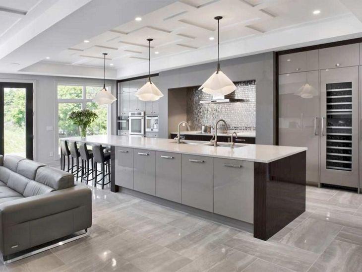 Modern Kitchen Ceiling Design Ideas 22