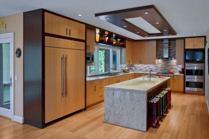 Modern Kitchen Ceiling Design Ideas 28