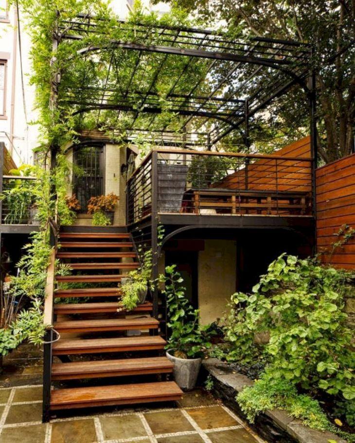 Outdoor Stairway Ideas 111