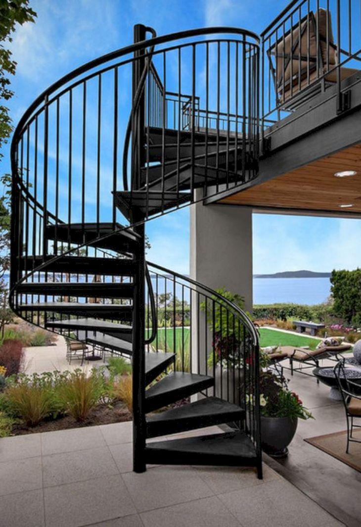 Outdoor Stairway Ideas 116
