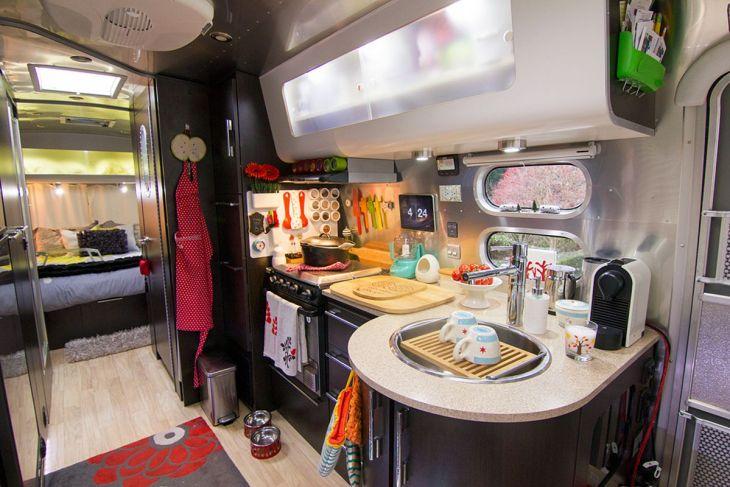 RV Kitchen Storage Design Ideas 17