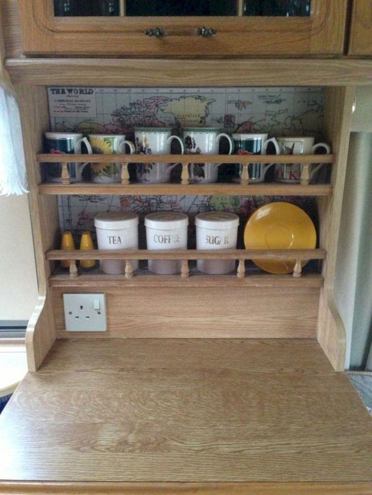RV Kitchen Storage Design Ideas 19