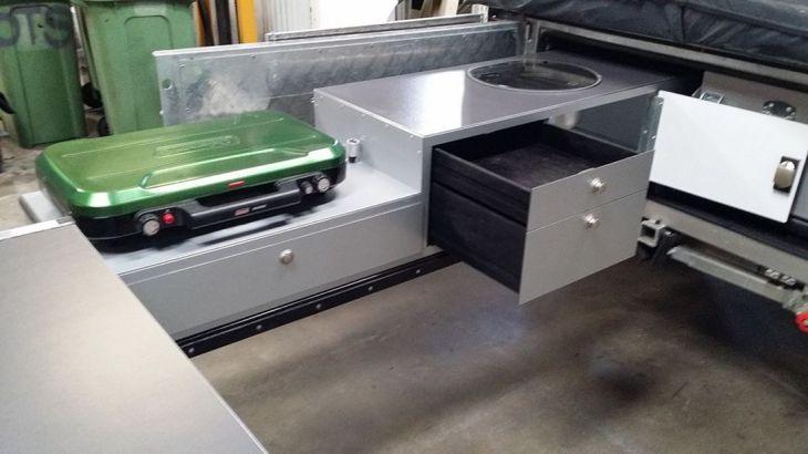 RV Kitchen Storage Design Ideas 25