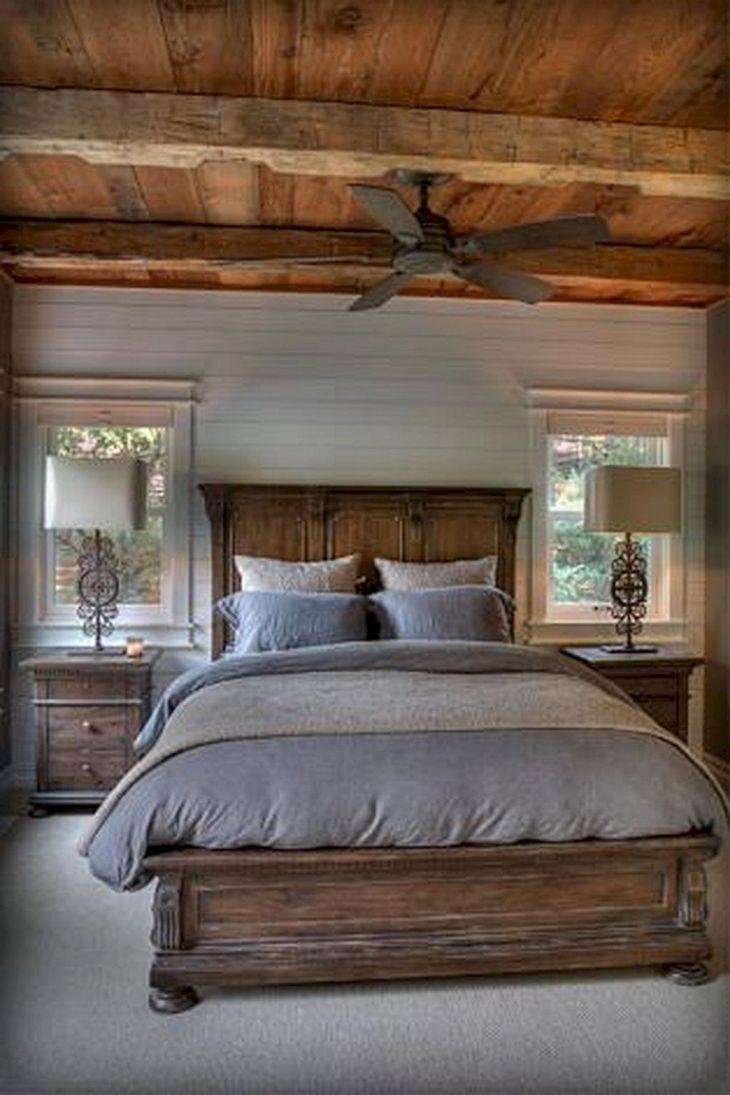 Rustic Master Bedroom Design