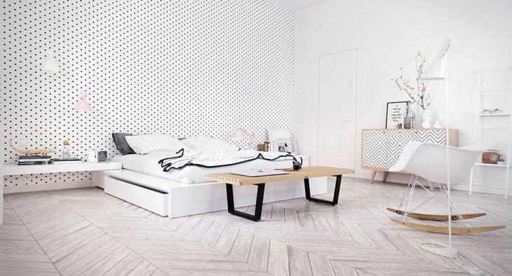 Scandinavian Bedroom Decorating Ideas 8
