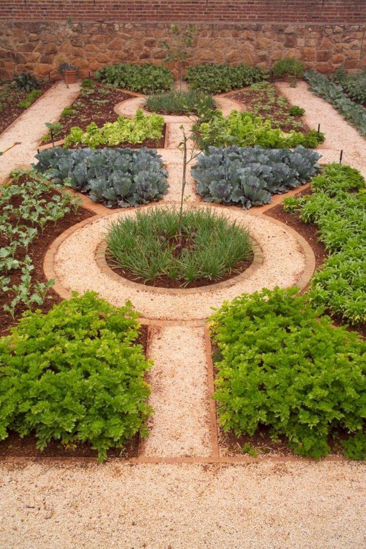 Vegetable Zen Garden Ideas 19