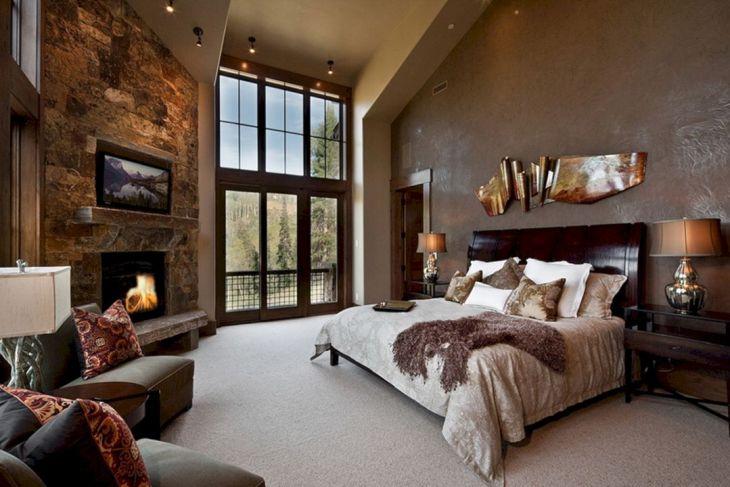 rustic luxury bedroom design ideas